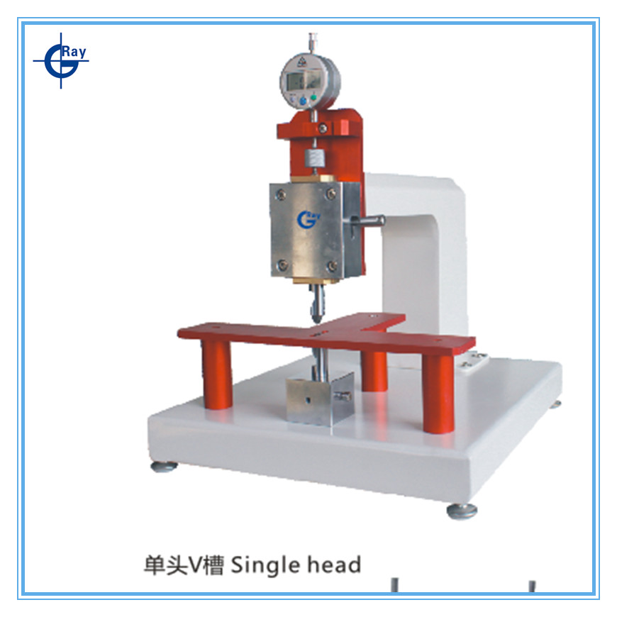 Single head V - CUT the thickness tester